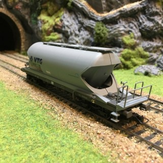 Wagon silo Aacs VTG époque V-HO-1/87-HERIS 11515-3