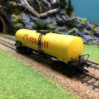 Wagon citerne Shell -HO-1/87-MARKLIN 4756 DEP39-15