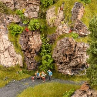 Rochers en liège naturel 80g - toutes échelles -NOCH 08810