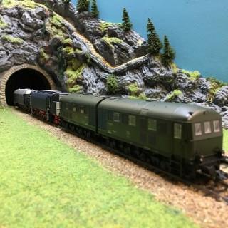 3 locomotives V120, V140 et V188 digitale Fx - HO-1/87-MARKLIN 37203 DEP17-394