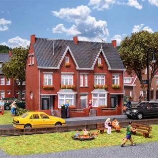 2 maisons jumelées -HO-1/87-KIBRI 38323
