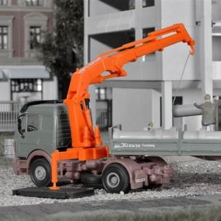 2 grues Atlas pour camion ou autre -HO-1/87-KIBRI 10988
