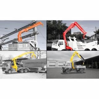 4 grues pour tous types de véhicules -HO-1/87-KIBRI 15705