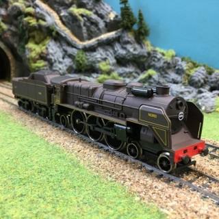 Locomotive 231 Nord -HO-1/87-JOUEF 8252 DEP27-08