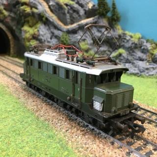 Locomotive E44056 Collection sans boite -HO-1/87-FLEISCHMANN DEP35-08