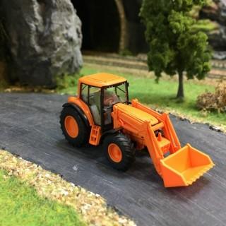 Tracteur John Deere 6920S avec godet avant-HO-1/87-Wiking 039339