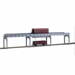 Pont de chargement de wagon trémie -HO-1/87-PIKO 61122