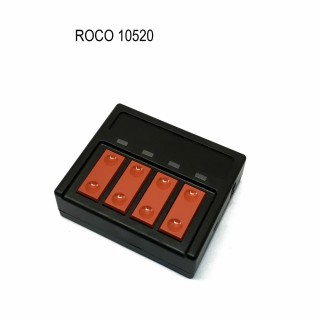 Commande 4 poussoirs pour aiguillages-ROCO 10520