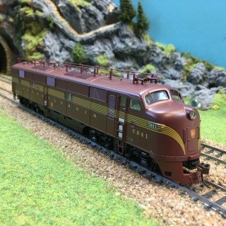 Locomotive E7A PRR Tuscan digitale son-HO-1/87-BROADWAY L.754 DEP17363