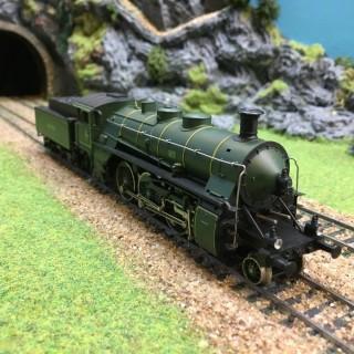 Locomotive type 231 K.BAY -HO-1/87-MARKLIN 3092 DEP39-111