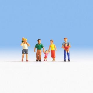 Parents avec enfants -HO-1/87-NOCH 15592