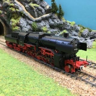 Locomotive BR42 DB Mfx sonore ep III -HO-1/87-MARKLIN 39042