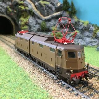 Locomotive E636.199 FS époque IIIb -HO-1/87-LEMODELS 20620