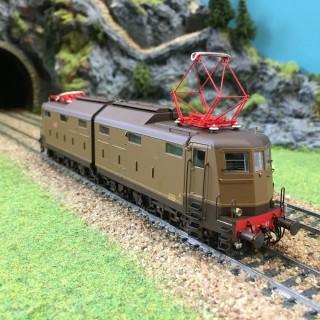 Locomotive E.636.169 FS époque IIIb et IVa -HO-1/87-LEMODELS 20623