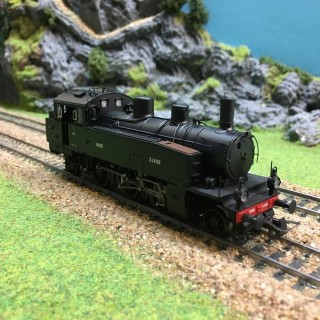 Locomotive T5 Nord Sncf digitale son 3 rails -HO-1/87- BRAWA 40191 DEP39-114