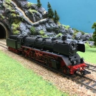 Locomotive BR41 type 141 DB Mfx sonore -HO-1/87-MARKLIN 37921 DEP39-76