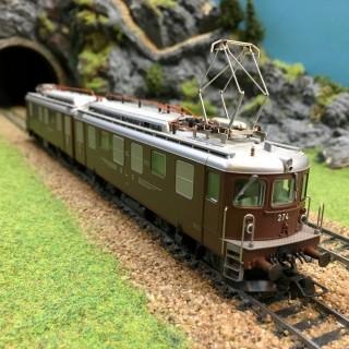 Locomotive Ae 8/8 274 BLS -HO-1/87-ROCO 63880 DEP58-01