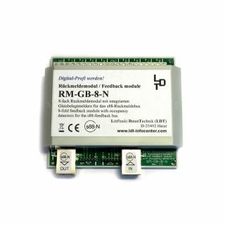Module de rétrosignalisation à 8 sorties -RM GB 8 N G -LDT 320103