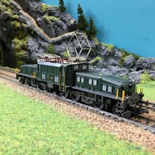 Locomotive Ce 6/8 SBB -HO-1/87-MARKLIN 39560 DEP39-80