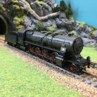 Locomotive P 10 DRG digitale son Mfx -HO-1/87-MARKLIN 37938 DEP39-01