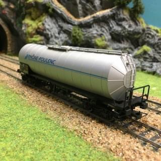 Wagon citerne Rhône Poulenc Sncf -HO-1/87-JOUEF HJ6101 DEP13-136