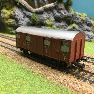 Wagon couvert Sncf occasion -HO-1/87-ROWA W240