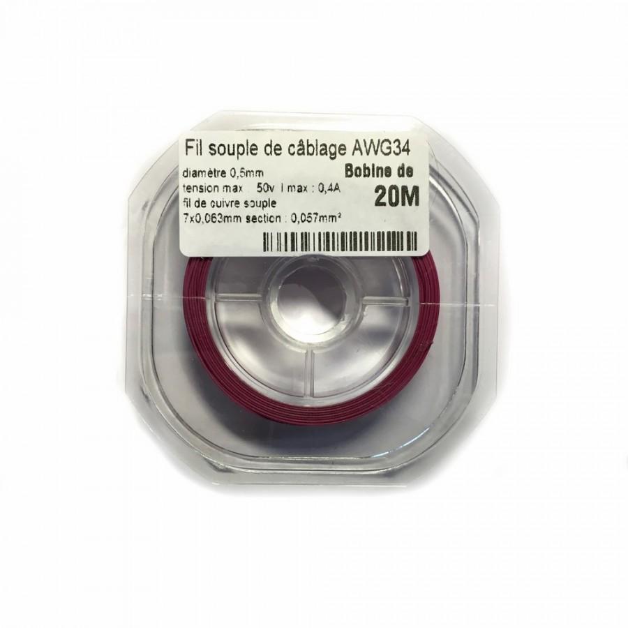 Fil electrique 0 5mm2