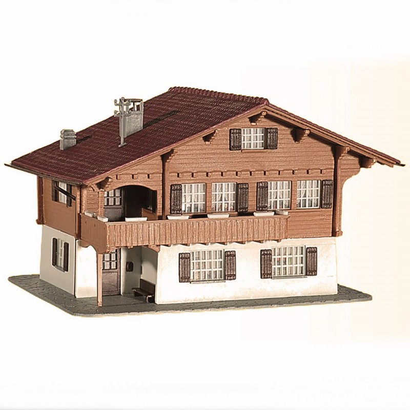 chalet de montagne ho kibri 38805 modelisme ferroviaire et. Black Bedroom Furniture Sets. Home Design Ideas