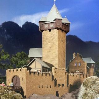 Château fort-HO-1/87-KIBRI 39010