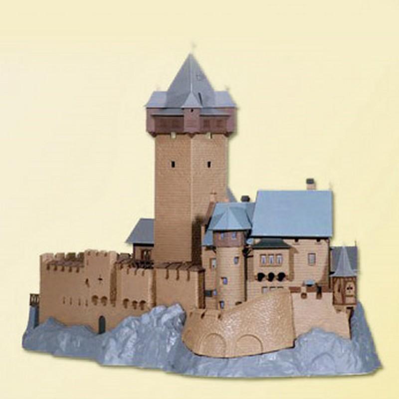 maquette chateau fort ho. Black Bedroom Furniture Sets. Home Design Ideas
