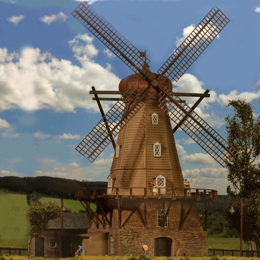 Moulin vent ho kibri 39151 modelisme ferroviaire et for Piscine du moulin a vent