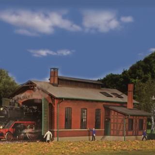 Remise pour une locomotive-HO-1/87-KIBRI 39436