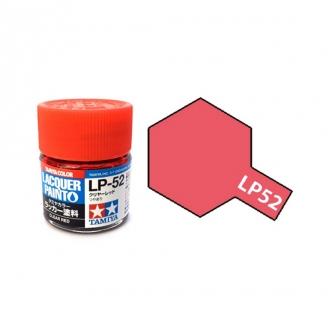 Rouge Translucide Brillant pot de 10ml-TAMIYA LP52