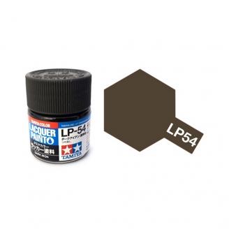 """""""Fer"""" Foncé Mat pot de 10ml-TAMIYA LP54"""