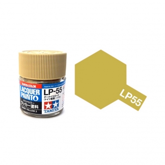 Jaune Sombre Mat pot de 10ml-TAMIYA LP55