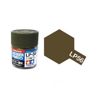Vert Foncé 2 Mat pot de 10ml-TAMIYA LP56