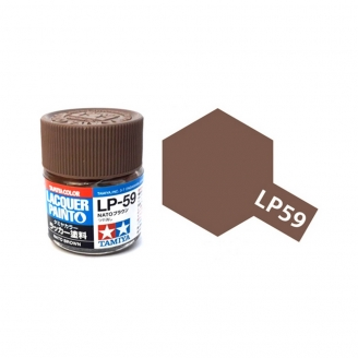 "Brun ""OTAN"" Mat pot de 10ml-TAMIYA LP59"
