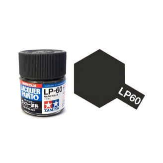 "Noir ""OTAN"" Mat pot de 10ml-TAMIYA LP60"