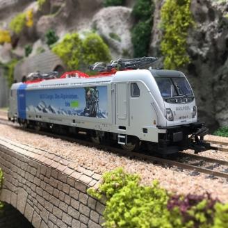 Locomotive BR 187.0 Railpool / BLS Cargo Ep VI digital son-HO 1/87-TRIX 22279