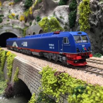 Locomotive double IORE, LKAB Ep VI digital son 3R-HO 1/87-ROCO 79459