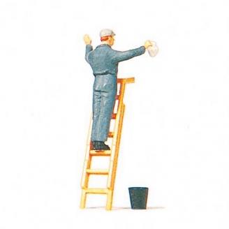 Laveur de carreaux-HO 1/87-PREISER 2828048