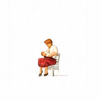 Mère allaitante-HO 1/87-PREISER 28176