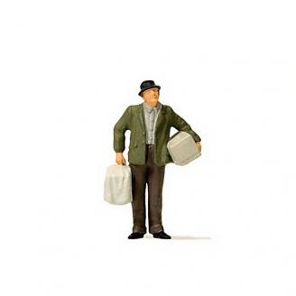 Homme avec colis-HO 1/87-PREISER 28160
