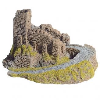 Ruine de château fort pour décor -HO-1/87-NOCH 58602