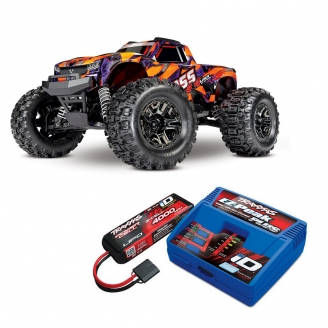 Hoss Truggy 4WD VXL Brushless Orange-1/10-TRAXXAS 90076-4