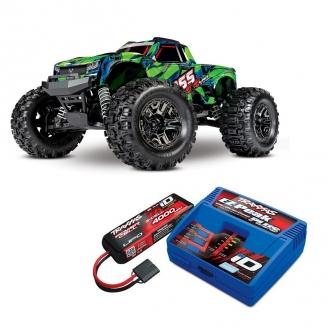 Pack Hoss Truggy 4WD VXL Brushless - 1/10 - TRAXXAS 90076-4-PCKV