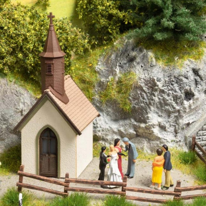 Chapelle de village-HO 1/87-NOCH 14336