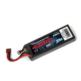 Batterie / Accu LiPo 2S 4200 mAh 40C 7.4 V - T2M T1342002C