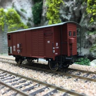 Wagon couvert K2 SBB Ep III-HO 1/87-BRAWA 47880