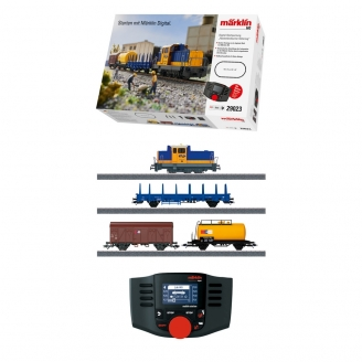Coffret de démarrage NS 700 / 4 éléments marchandises Ep VI digital son 3R-HO 1/87-MARKLIN 29023